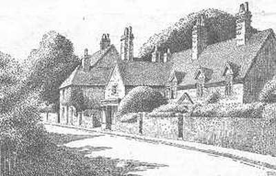 Castle Bromwich, cottages, Warwickshire