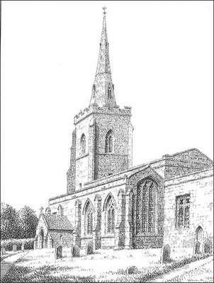 Orton on the Hill, church, Leicestershire